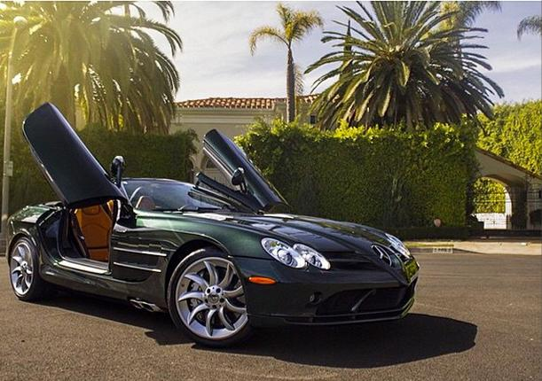 Who Owns Maserati >> Producer Michael Blakey Gets Custom on His Mercedes SLR McLaren - autoevolution
