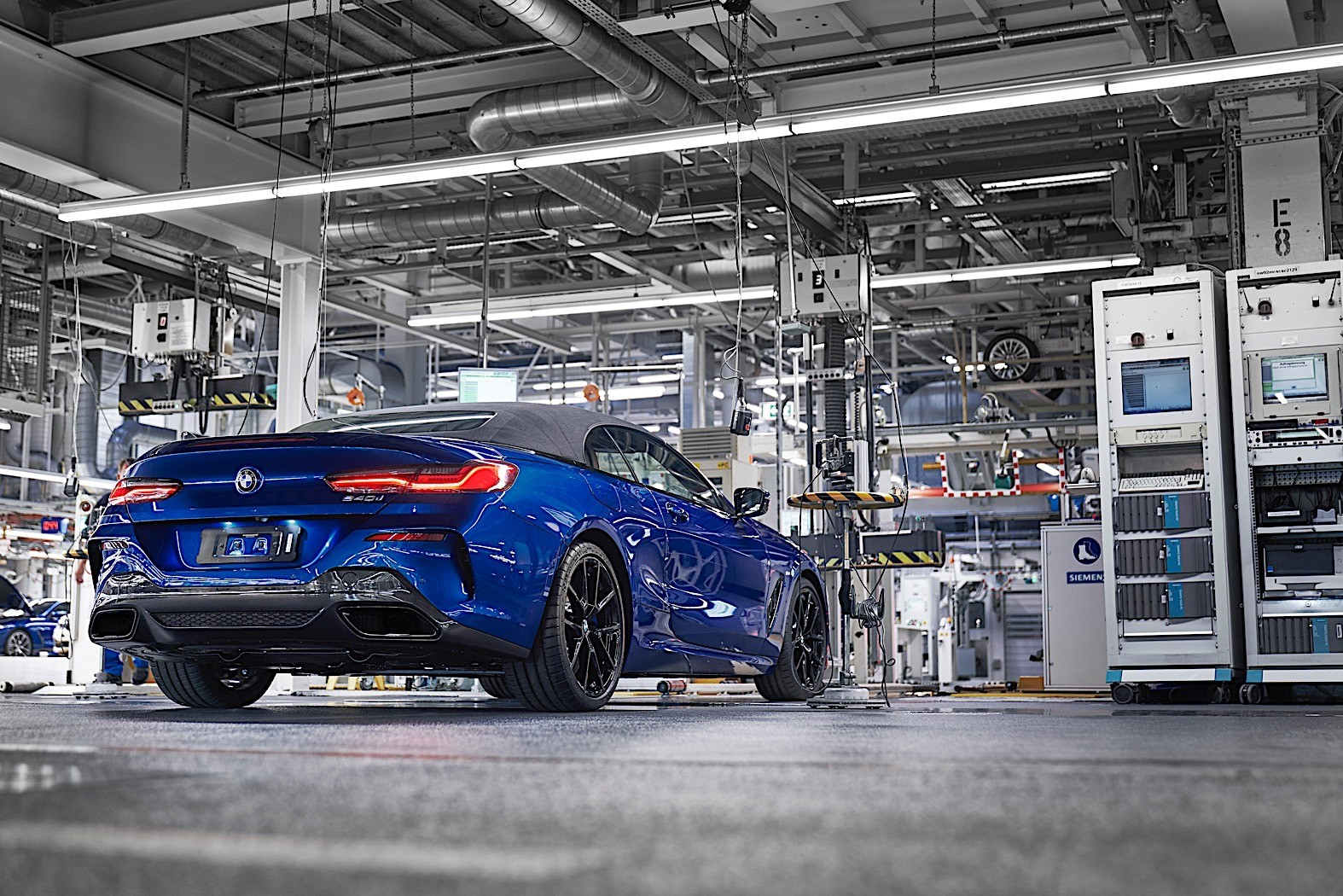New BMW 7 Series >> Production Begins for the 2020 BMW 8 Series Convertible ...
