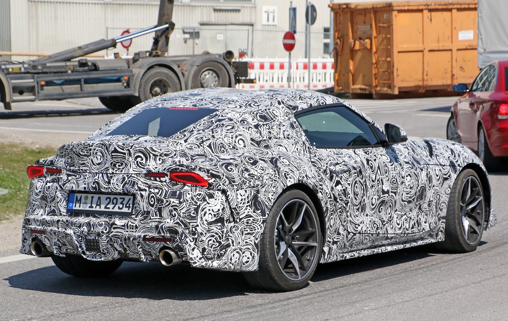 Production Ready 2019 Toyota Supra Previewed Ahead Of