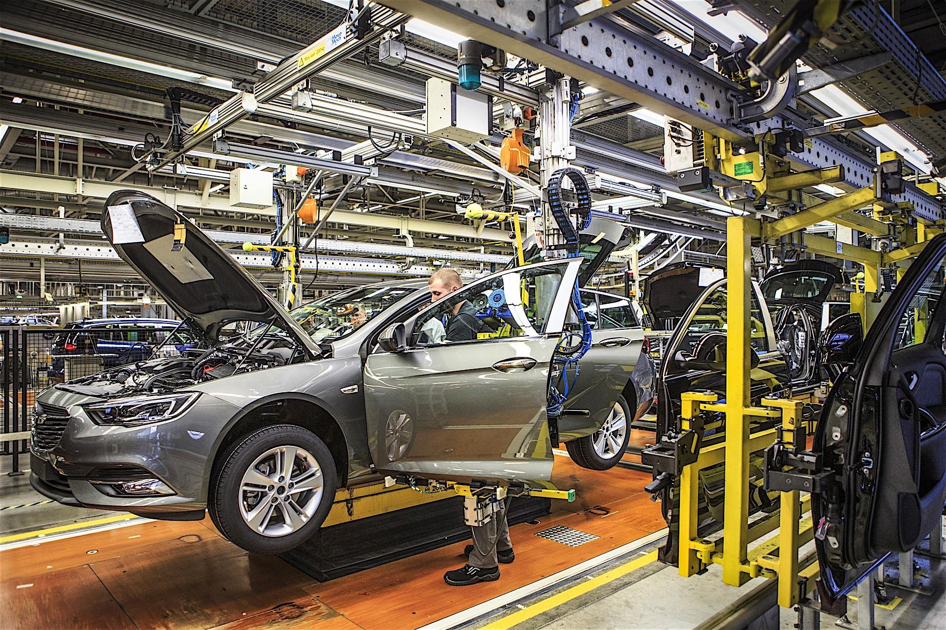 Производство машин в картинках