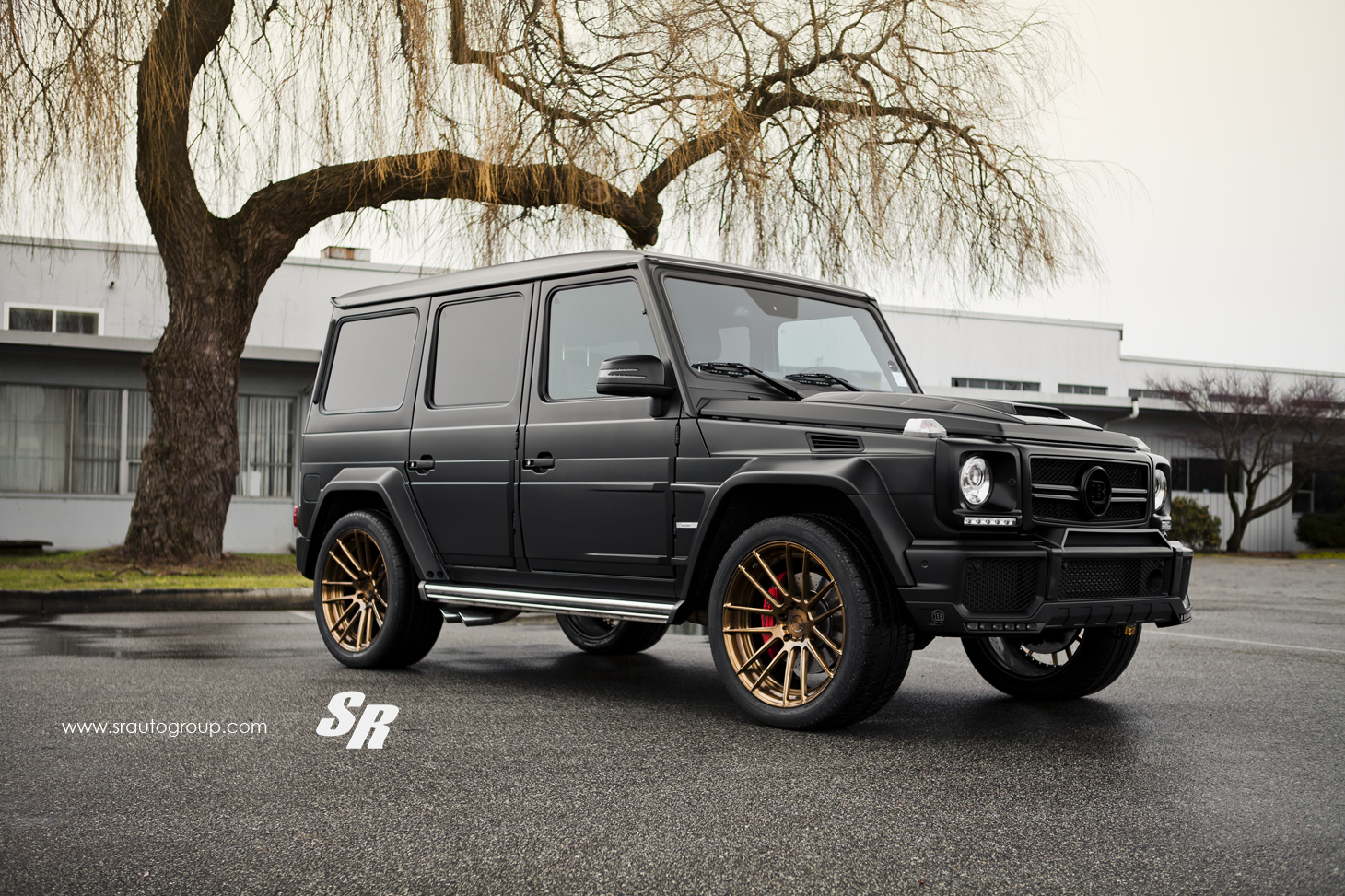 How Much To Paint A Car >> Project Gladiator: Brabus Widestar on ADV.1 Wheels - autoevolution