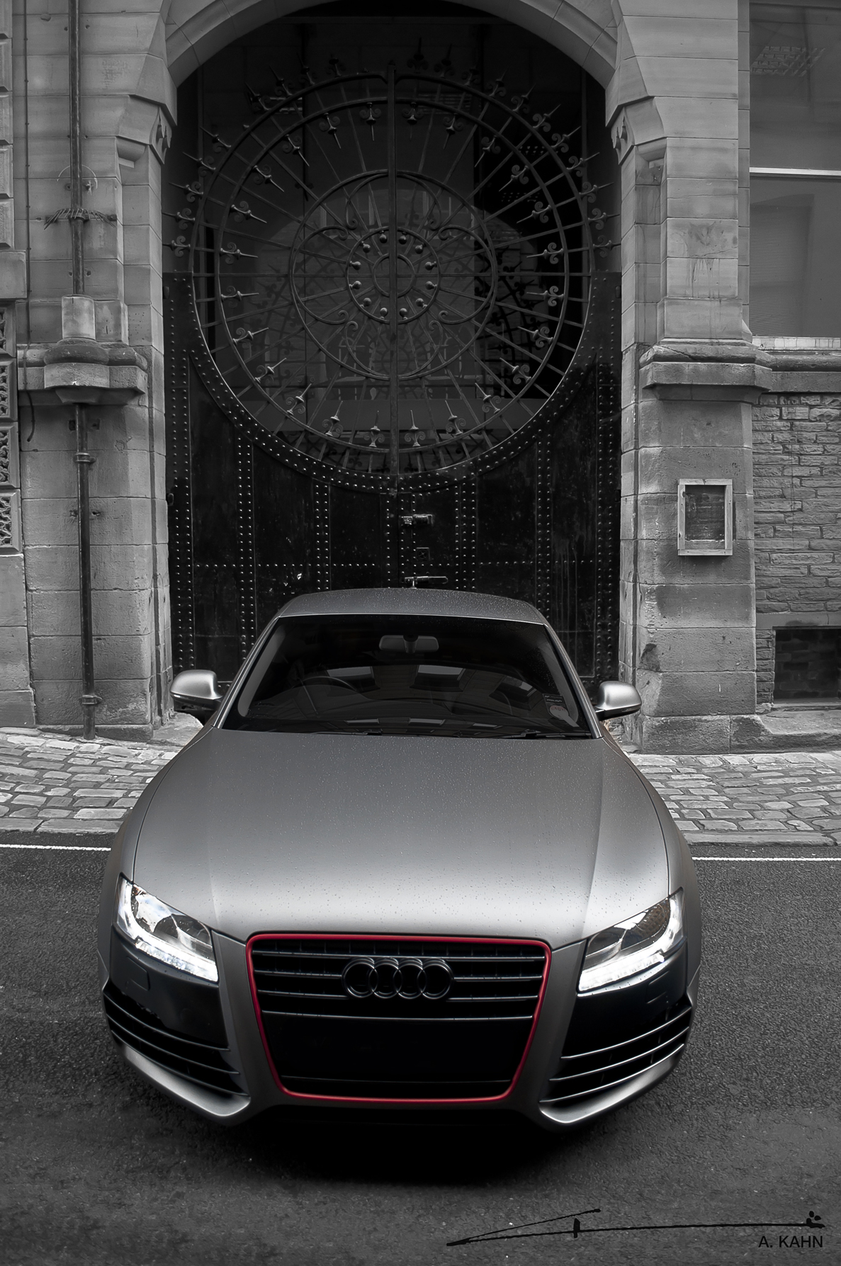 Project Kahn Audi A5 Coupe Matte Pearl Grey Unleashed ...
