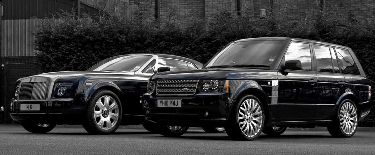 Project Kahn Releases Range Rover Vogue Black Edition  autoevolution