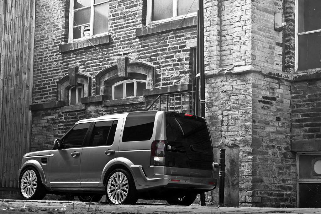 Project Kahn Targets The Land Rover Discovery 4