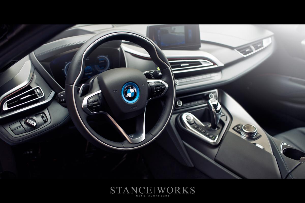 Protonic Blue Bmw I8 Poses For Breathtaking Shots Autoevolution