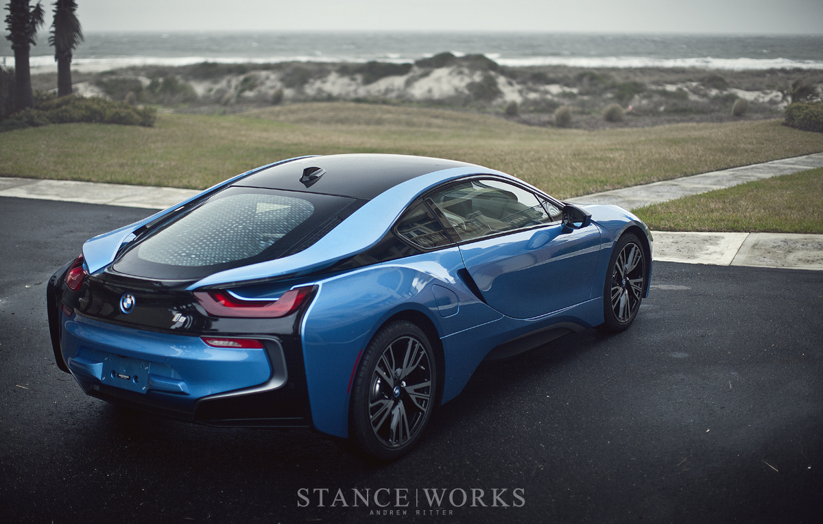 Protonic Blue Bmw I8