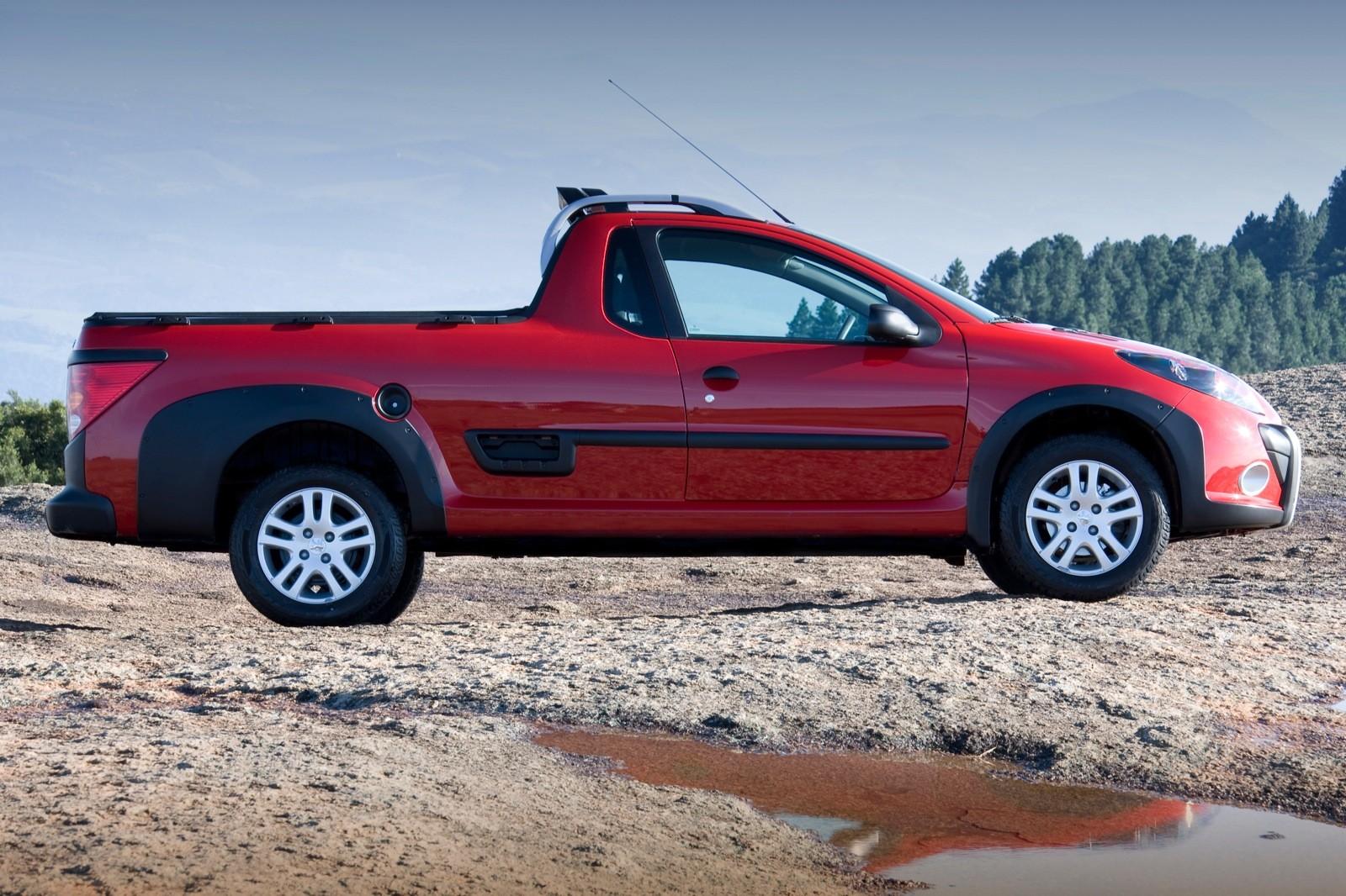 PSA Group Is Preparing A 1-Ton Pickup Truck - autoevolution