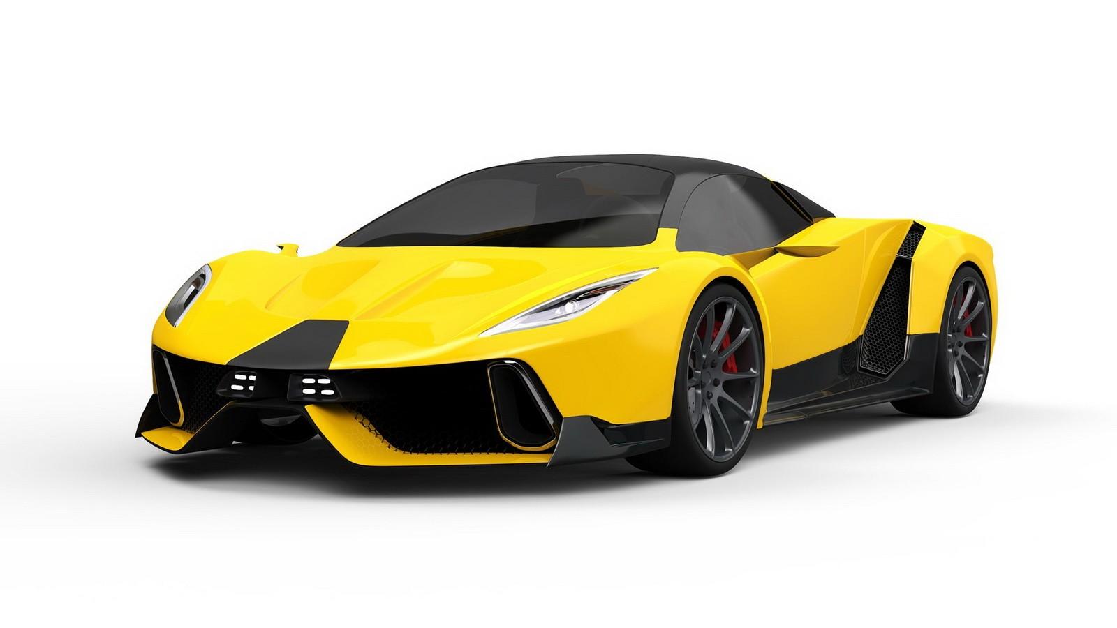 Psc Motors Reveals Sp 200 Sin Hypercar All We Get Is