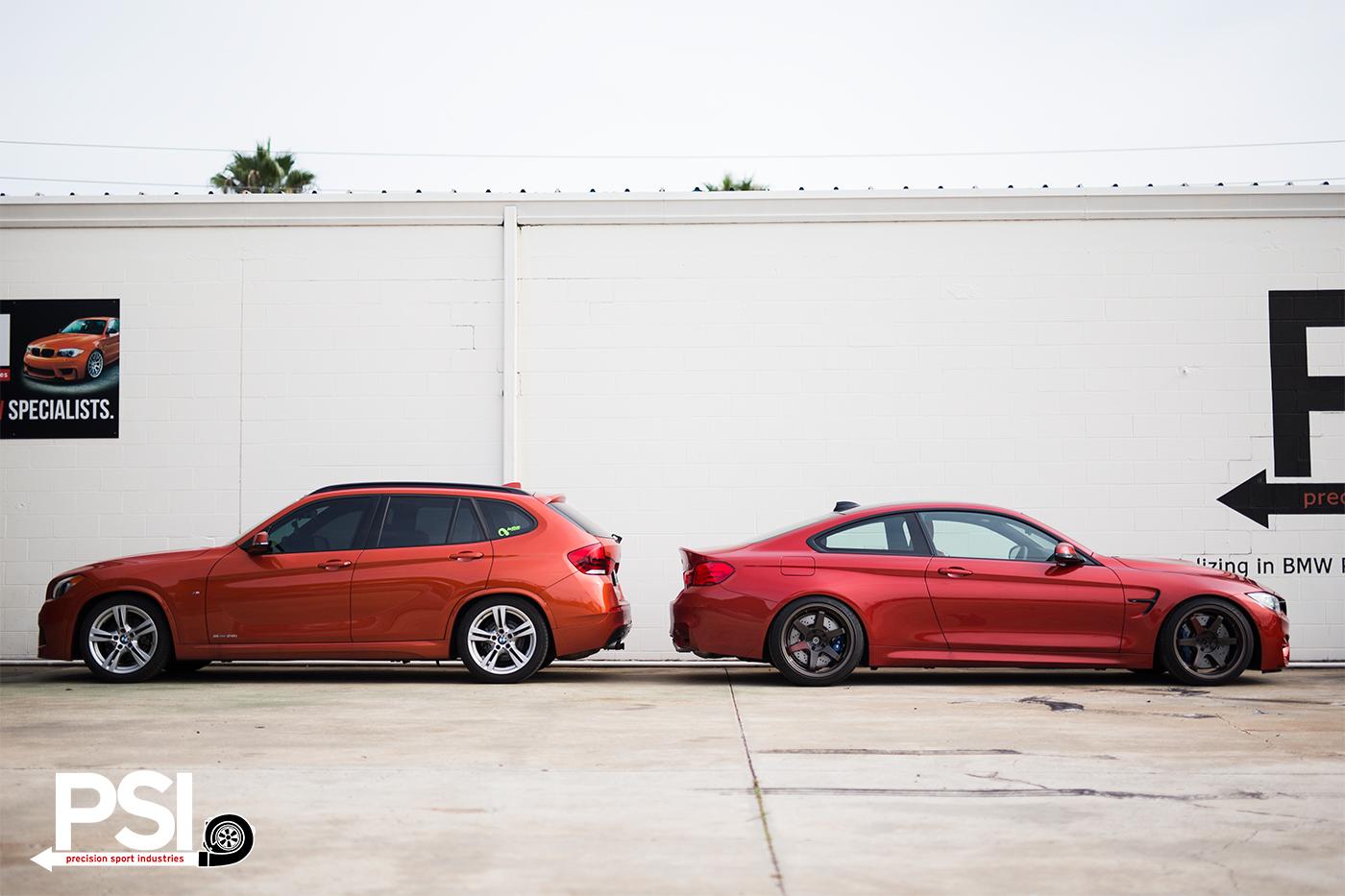 Psi S Sakhir Orange Bmw M4 Makes Some Friends Autoevolution