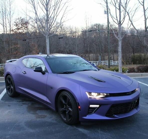 Purple 2016 Chevrolet Camaro Ss Is No Plum Crazy