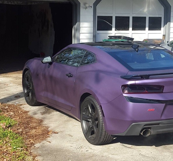 2008 chevrolet corvette chevy pictures photos gallery - Purple 2016 Chevrolet Camaro Ss Is No Plum Crazy