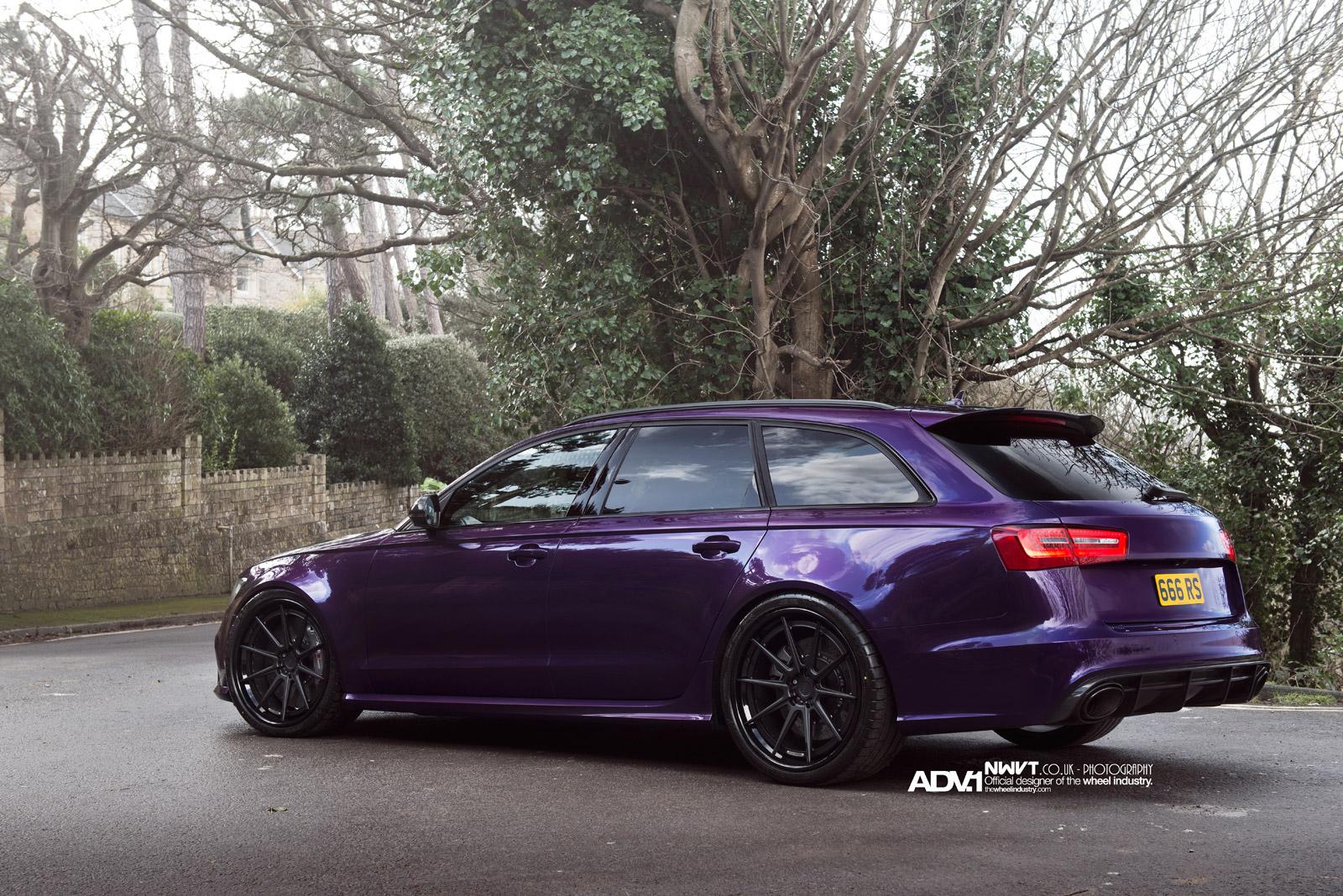 Purple Grand Cherokee >> Purple Sled: Audi RS6 Avant on ADV.1 Wheels - autoevolution