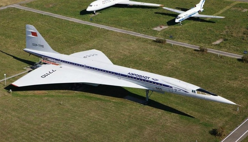 TU-144 Supersonic Aircraft
