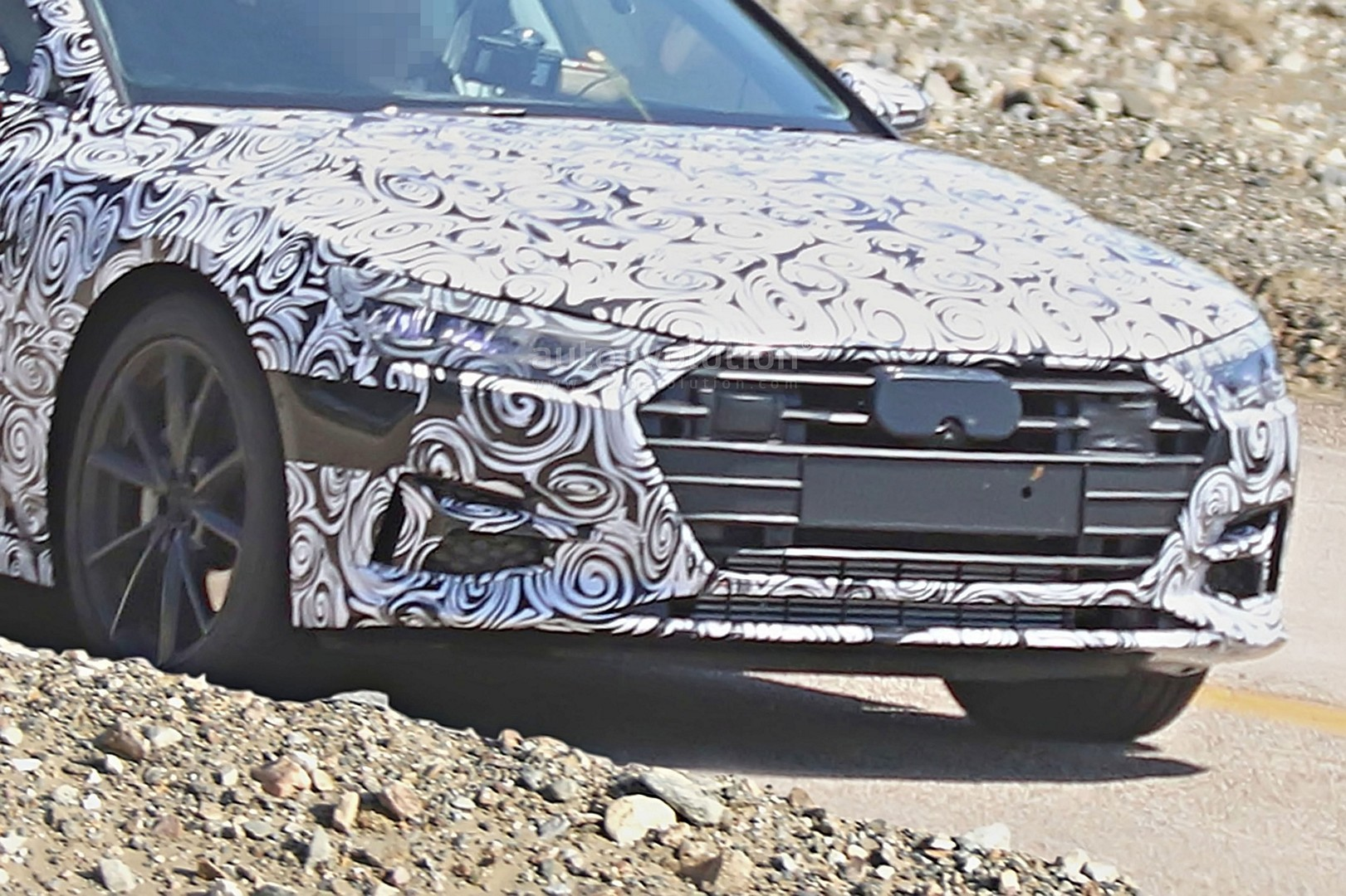 2018 audi electric. interesting audi 2018 audi a7 detailed spy photos reveal it could be electric or  hydrogenpowered and audi electric