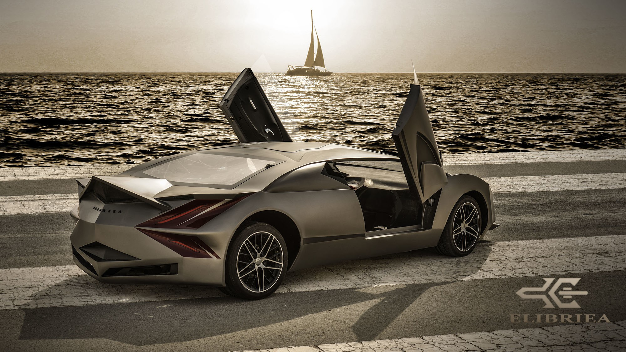 qatar 39 s first luxury sports car is called the elibriea equvallas autoevolution. Black Bedroom Furniture Sets. Home Design Ideas
