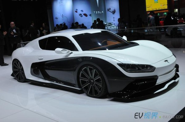 Chinese Company Qiantu Will Bring Its K50 Electric Sports Car To