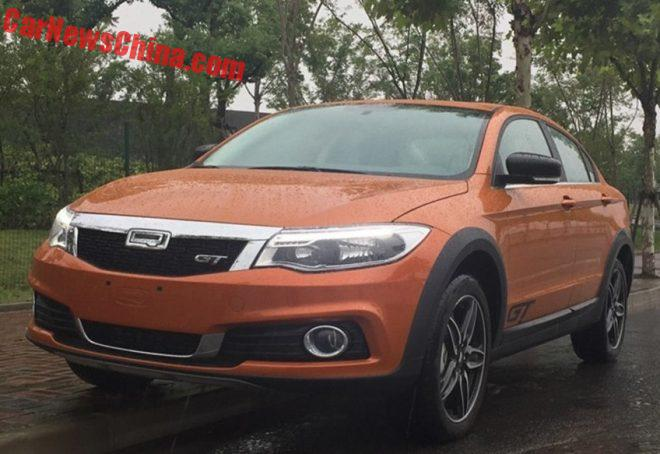 Qoros Copies Volvo Cross Country With Gt Off Road Sedan