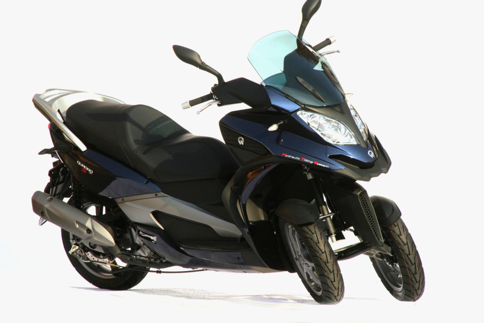 Quadro 350s The New 3 Wheel Scooter Autoevolution