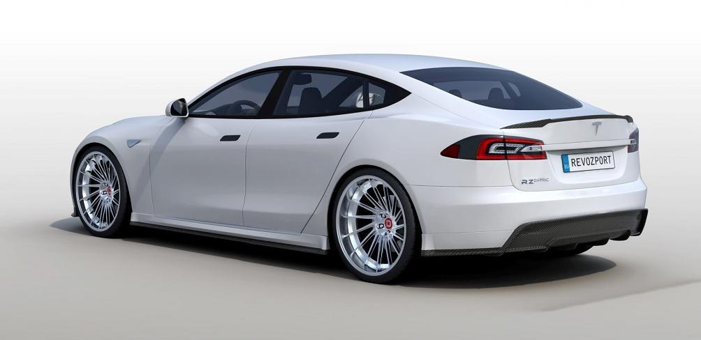 r zentric tesla model s is an all carbon fiber tuning job