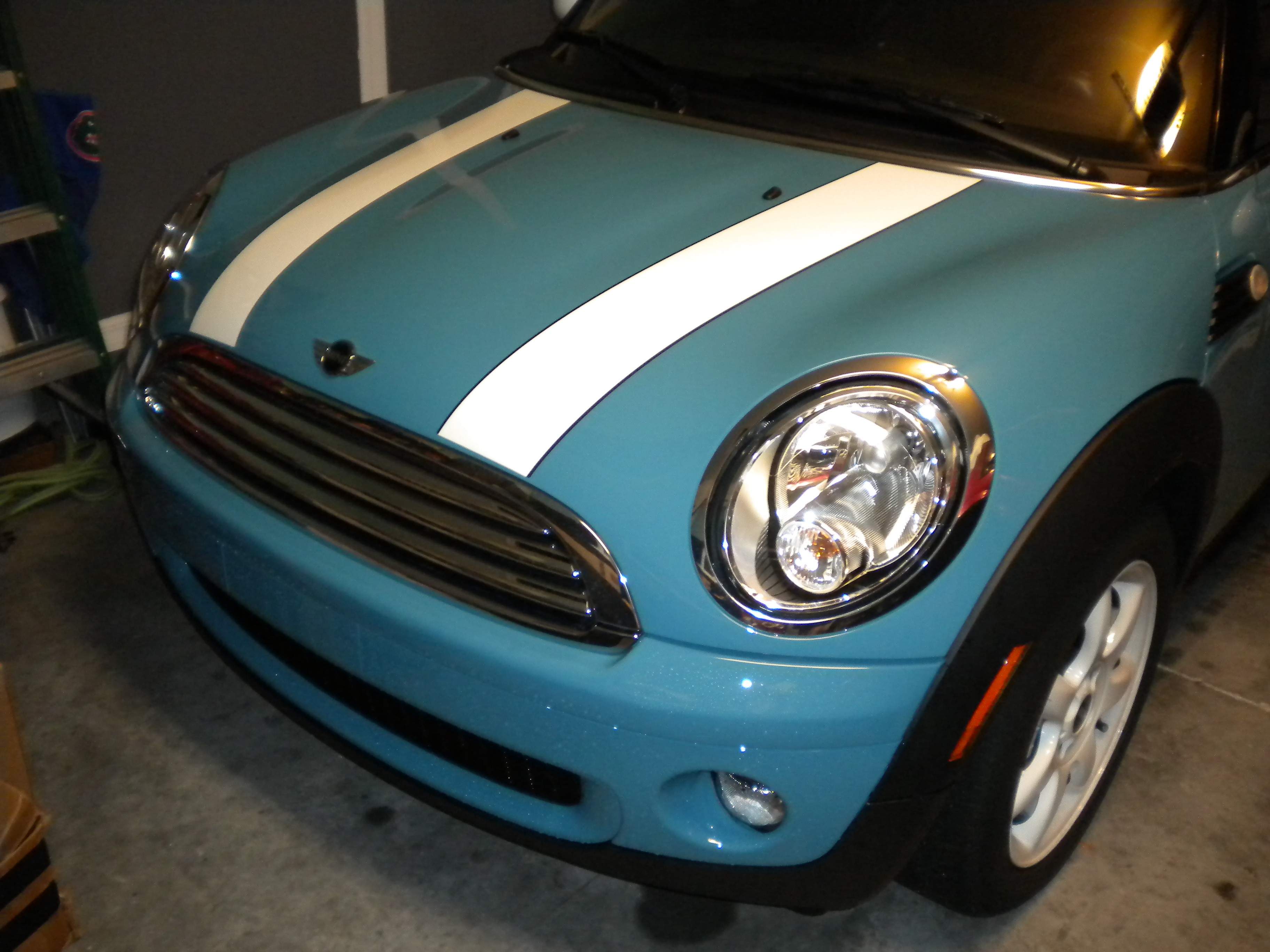 R56 Mini Cooper S Engine Oil Change Hard To Reach Filter