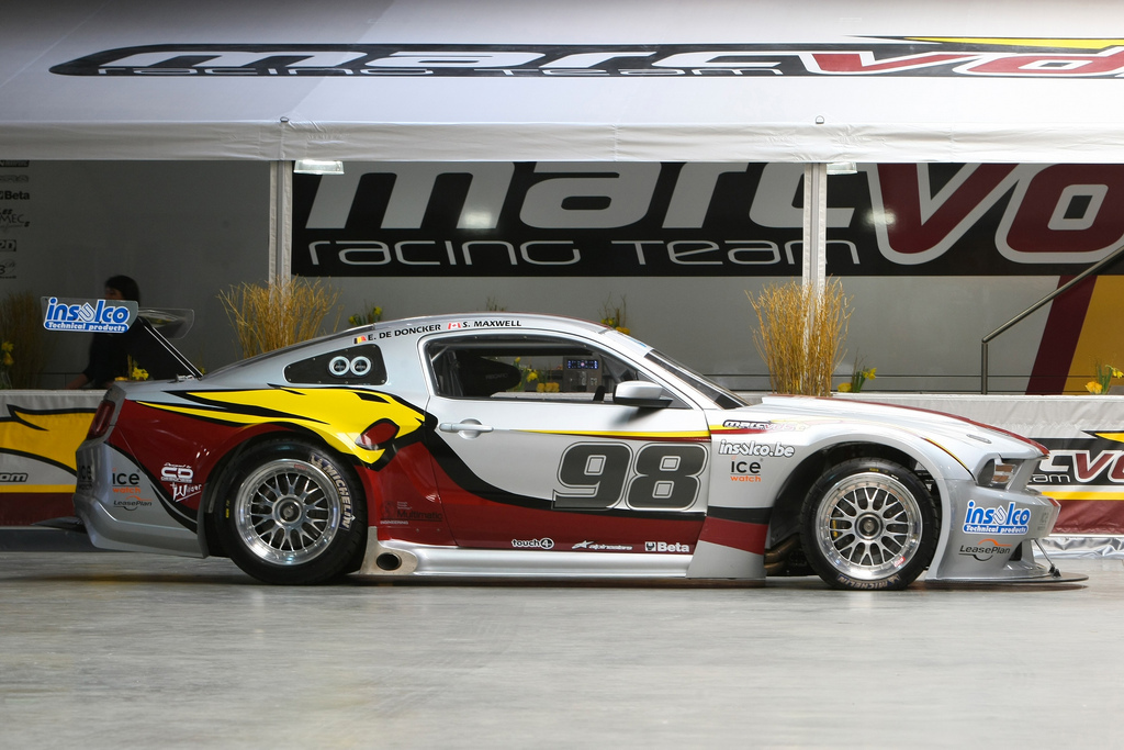 Race Spec Mustang To Enter The Fia Gt European Championship