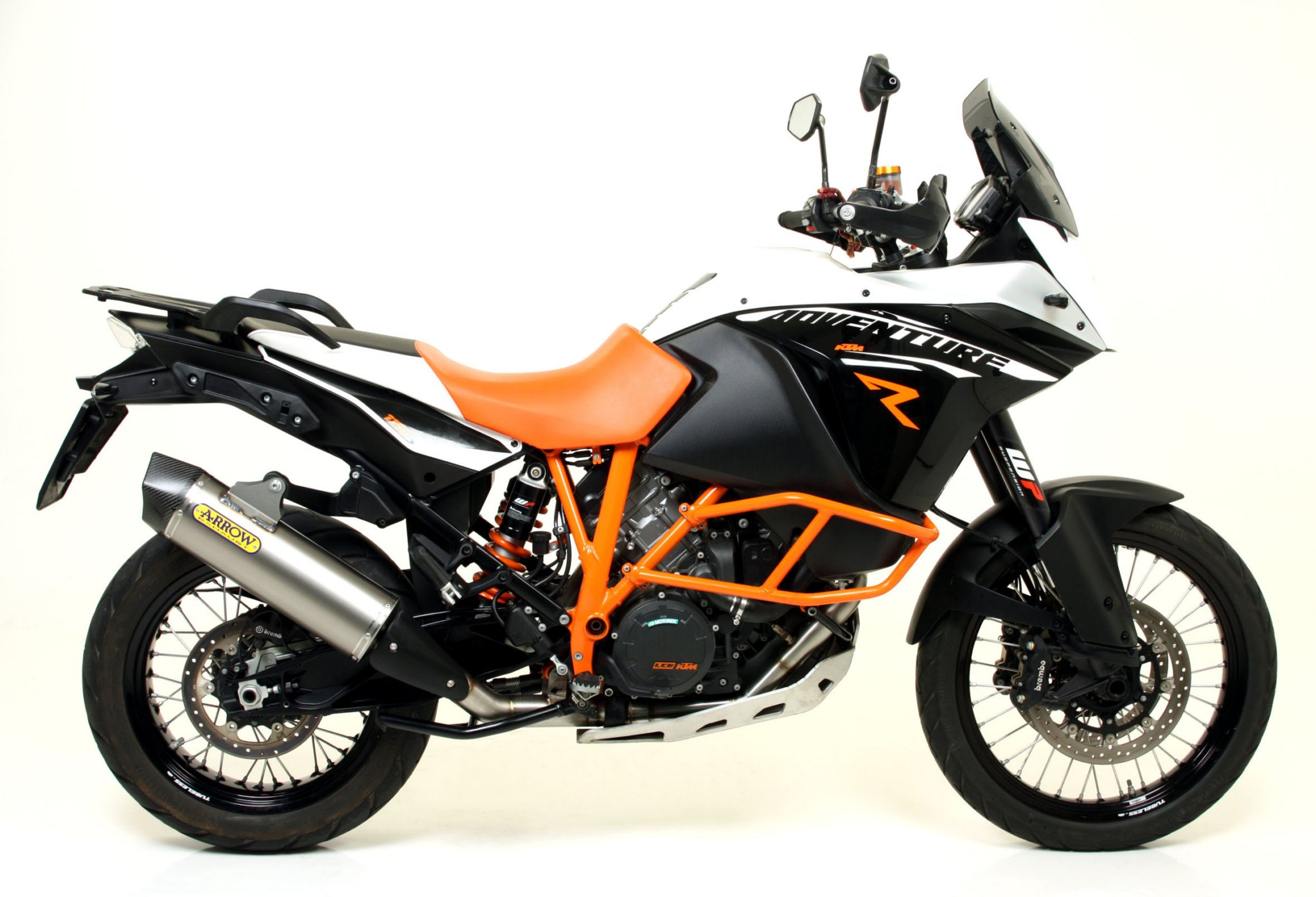 racing arrow exhaust for ktm 1190 adventure r autoevolution. Black Bedroom Furniture Sets. Home Design Ideas