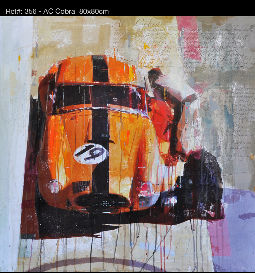 Quot Racing Legends Quot Paintings Perfectly Recreate Famous 60s