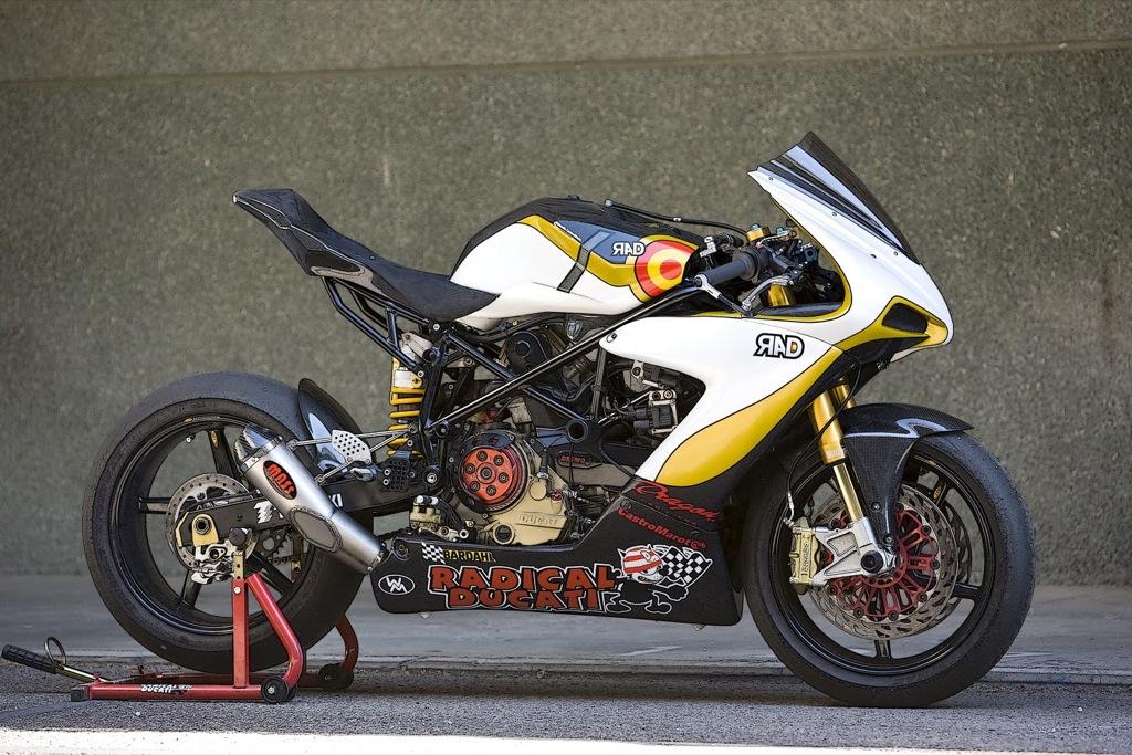 Radical Ducati Unveils Custom RAD02 Corsa EVO Bike - autoevolution