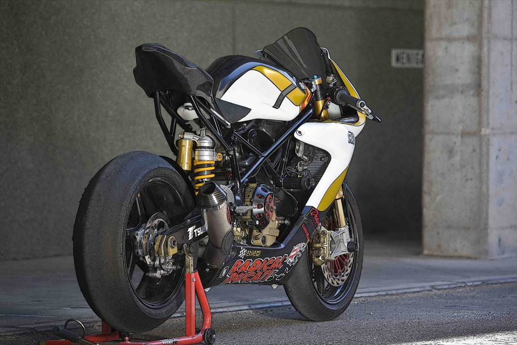 Radical Ducati Unveils Custom Rad02 Corsa Evo Bike
