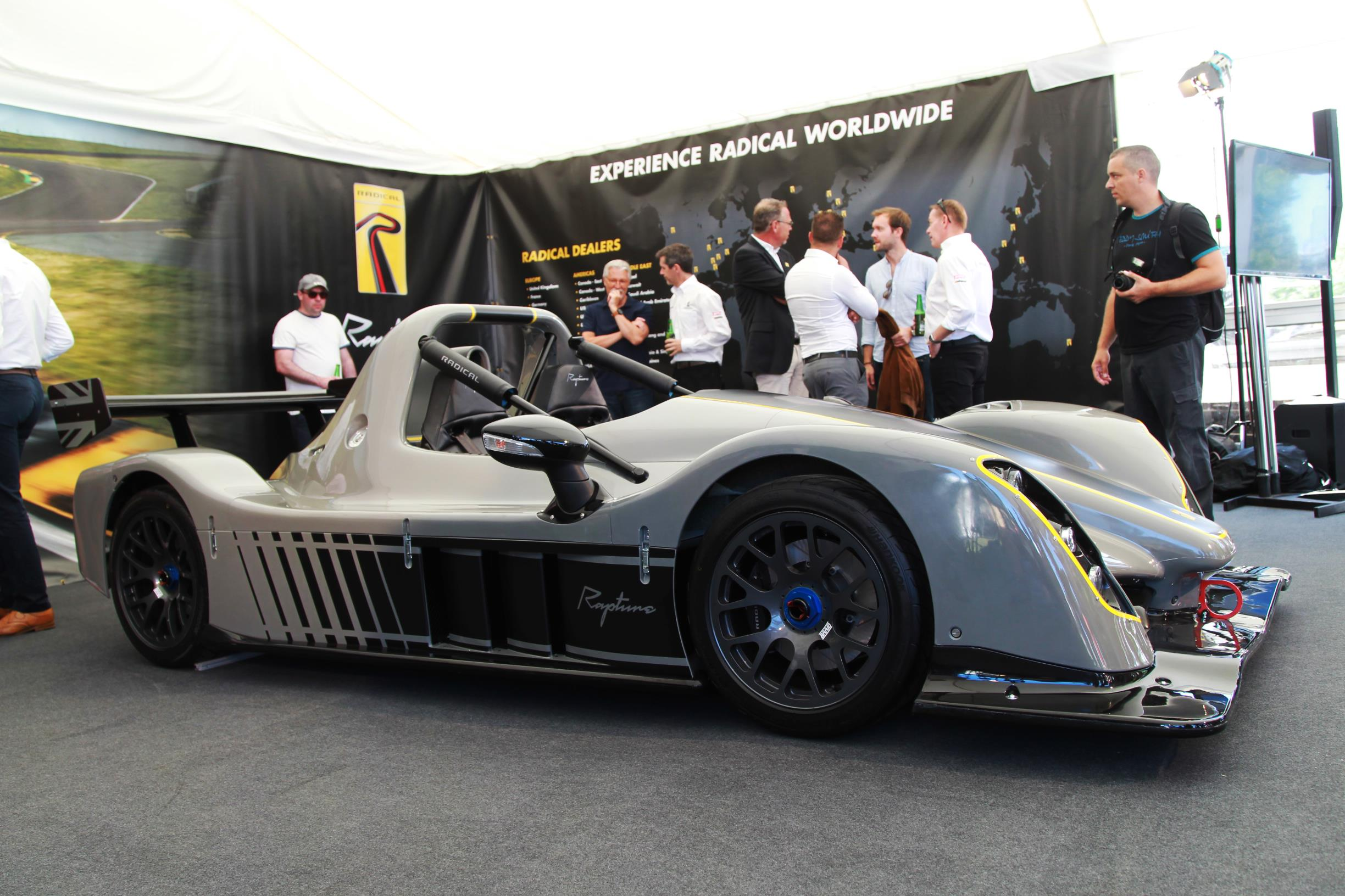 Radical Rapture Debuts at Goodwood as Road-Legal Monster