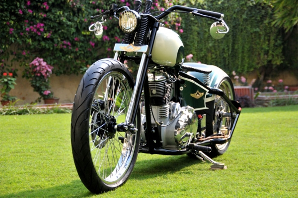 Rajputana Custom Motorcycles Nandi Awesomeness - autoevolution