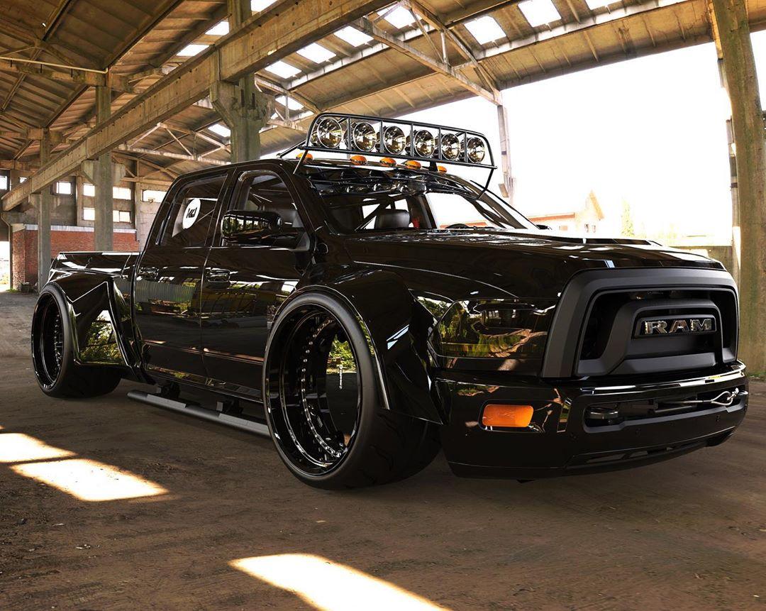 Ram 1500 Black Box Is A Widebody Monster Autoevolution