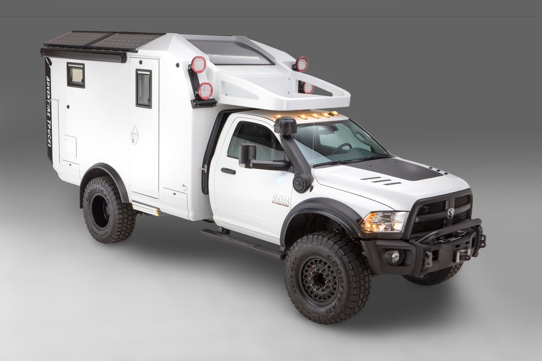 Ram 5500-based GEV Adventure Truck Is the Perfect Bug-Out ...