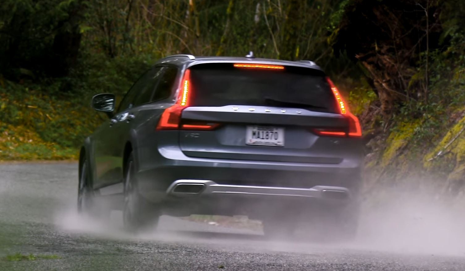 randy pobst review of volvo v90 cross country combines nostalgia and hooning