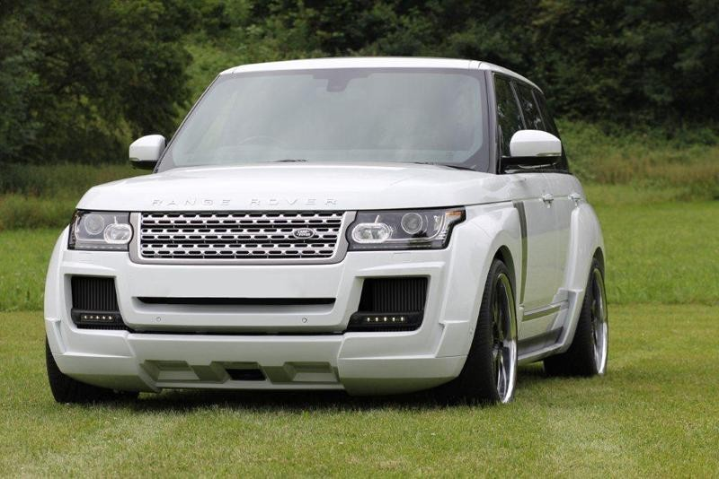 Range Rover Earns Vip Upgrade From Arden Power Goes Up To