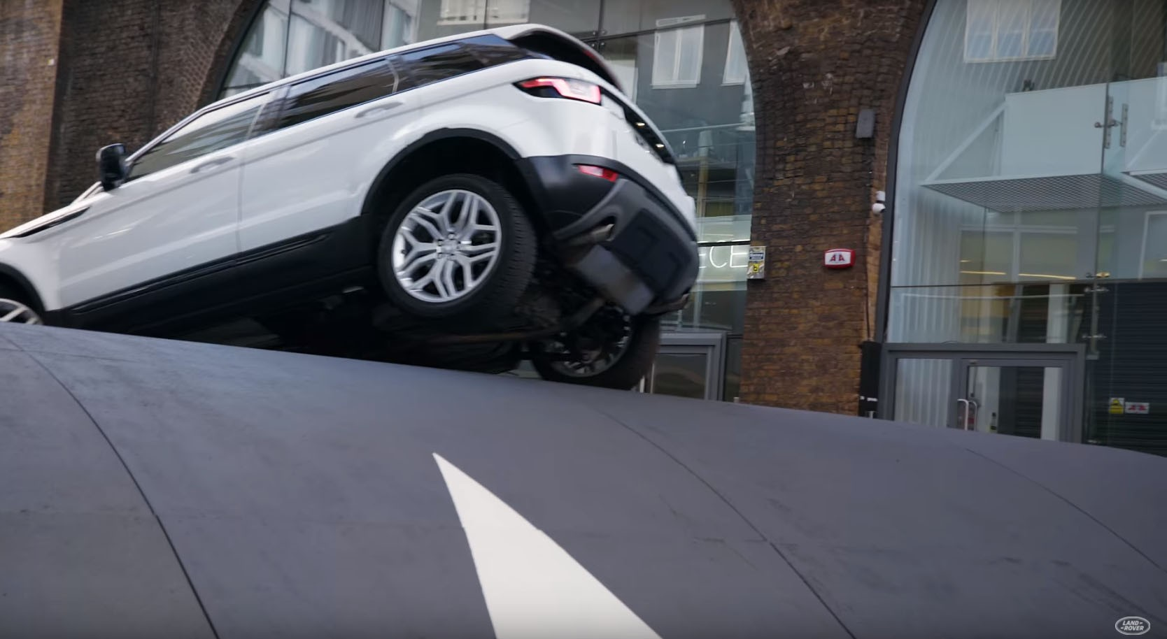 Range Rover Evoque Admits to Its Urban Nature in Oversized Speed ...