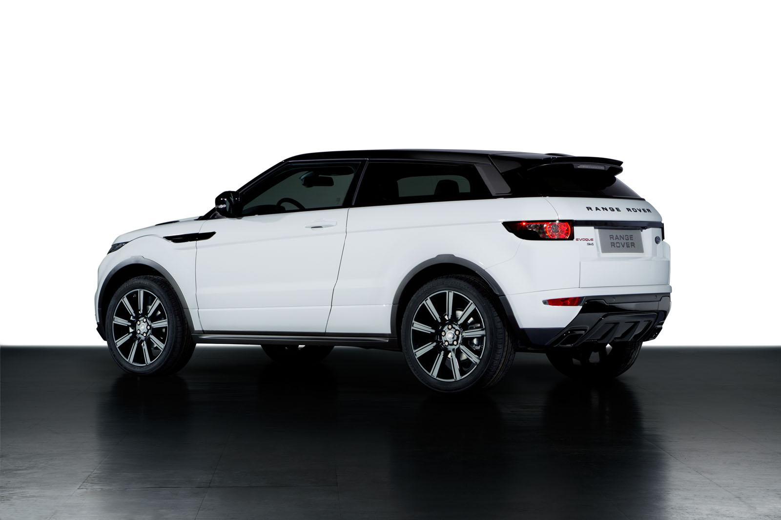 range rover evoque black pack launched autoevolution. Black Bedroom Furniture Sets. Home Design Ideas