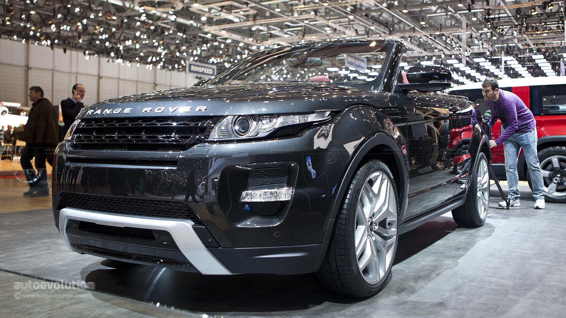 range rover evoque cabrio could be ready in 2015 autoevolution. Black Bedroom Furniture Sets. Home Design Ideas