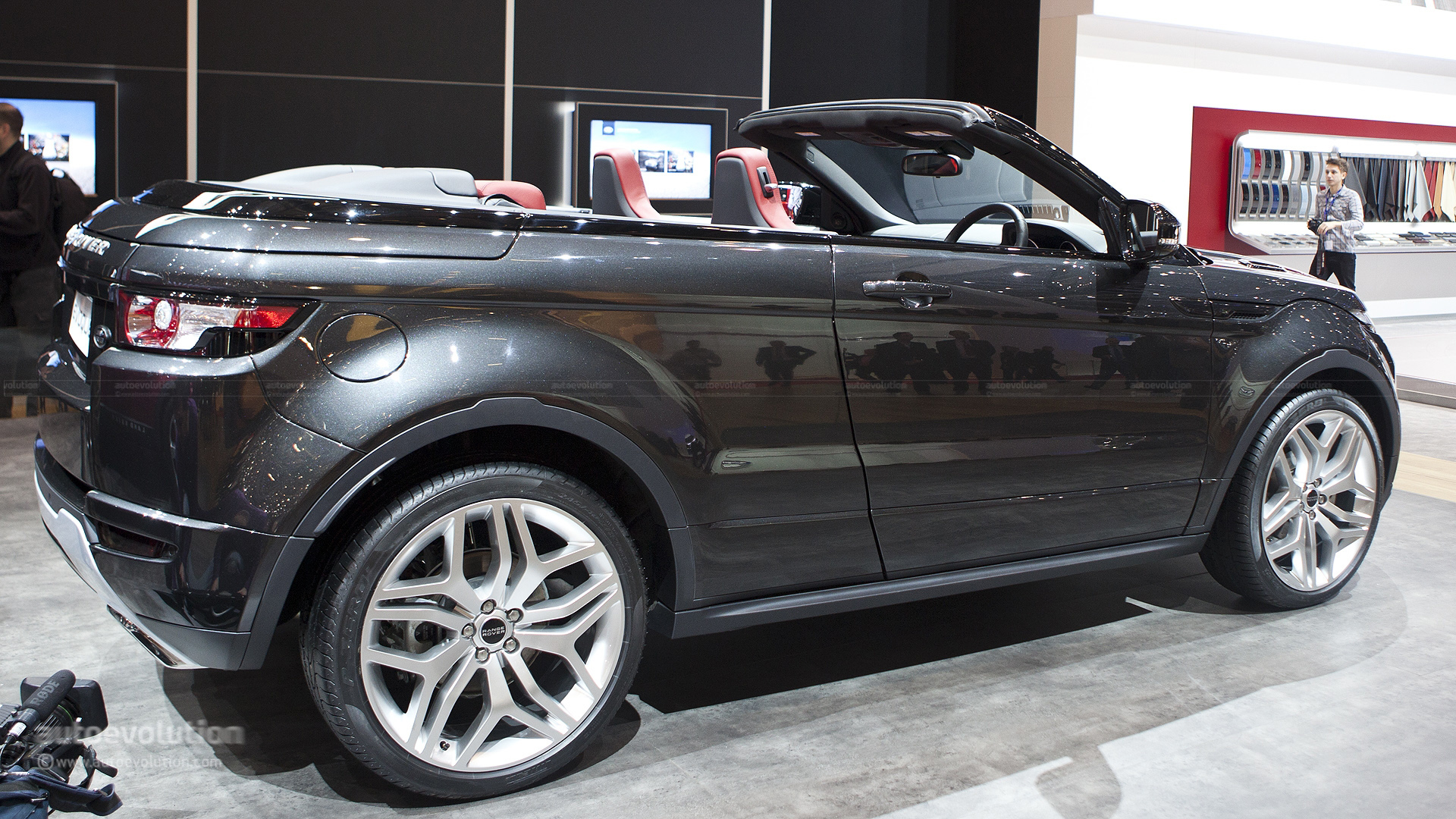 range rover evoque cabrio could be ready in 2015. Black Bedroom Furniture Sets. Home Design Ideas