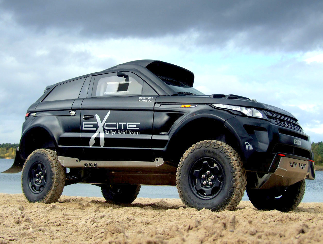 range rover evoque desert warrior 3 revealed autoevolution. Black Bedroom Furniture Sets. Home Design Ideas