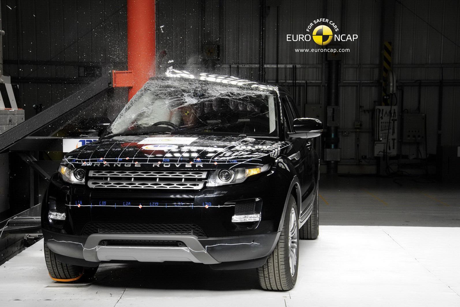 range rover evoque gets five star euro ncap rating autoevolution. Black Bedroom Furniture Sets. Home Design Ideas