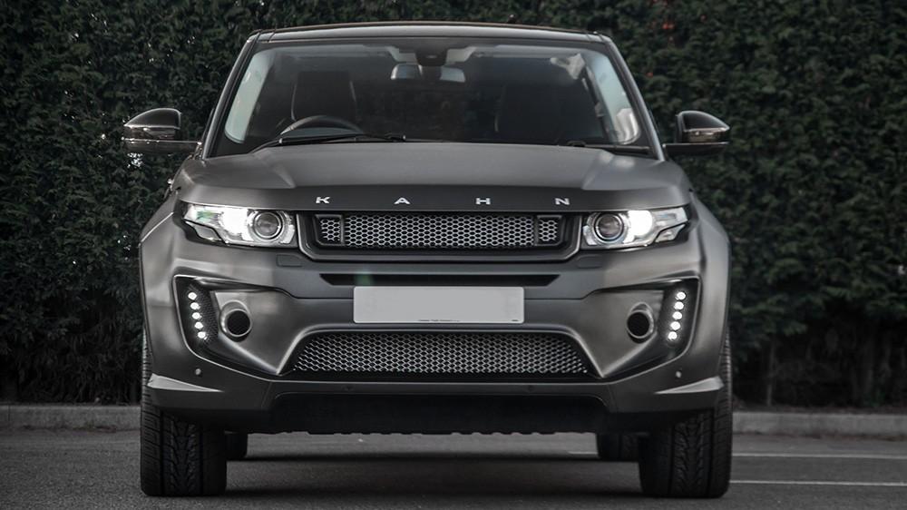 Range Rover Evoque Gets All Matte Black Carbon Fiber
