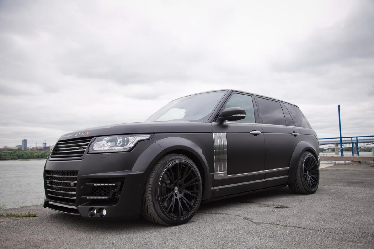 2014 lumma design range rover clr r lwb dark cars wallpapers. Black Bedroom Furniture Sets. Home Design Ideas