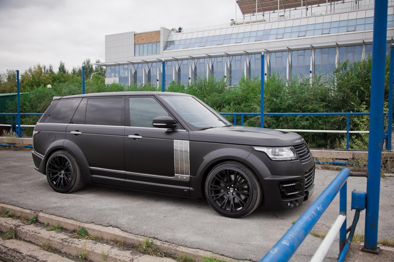 Range Rover Lwb Gets Wide Body Kit From Lumma Design