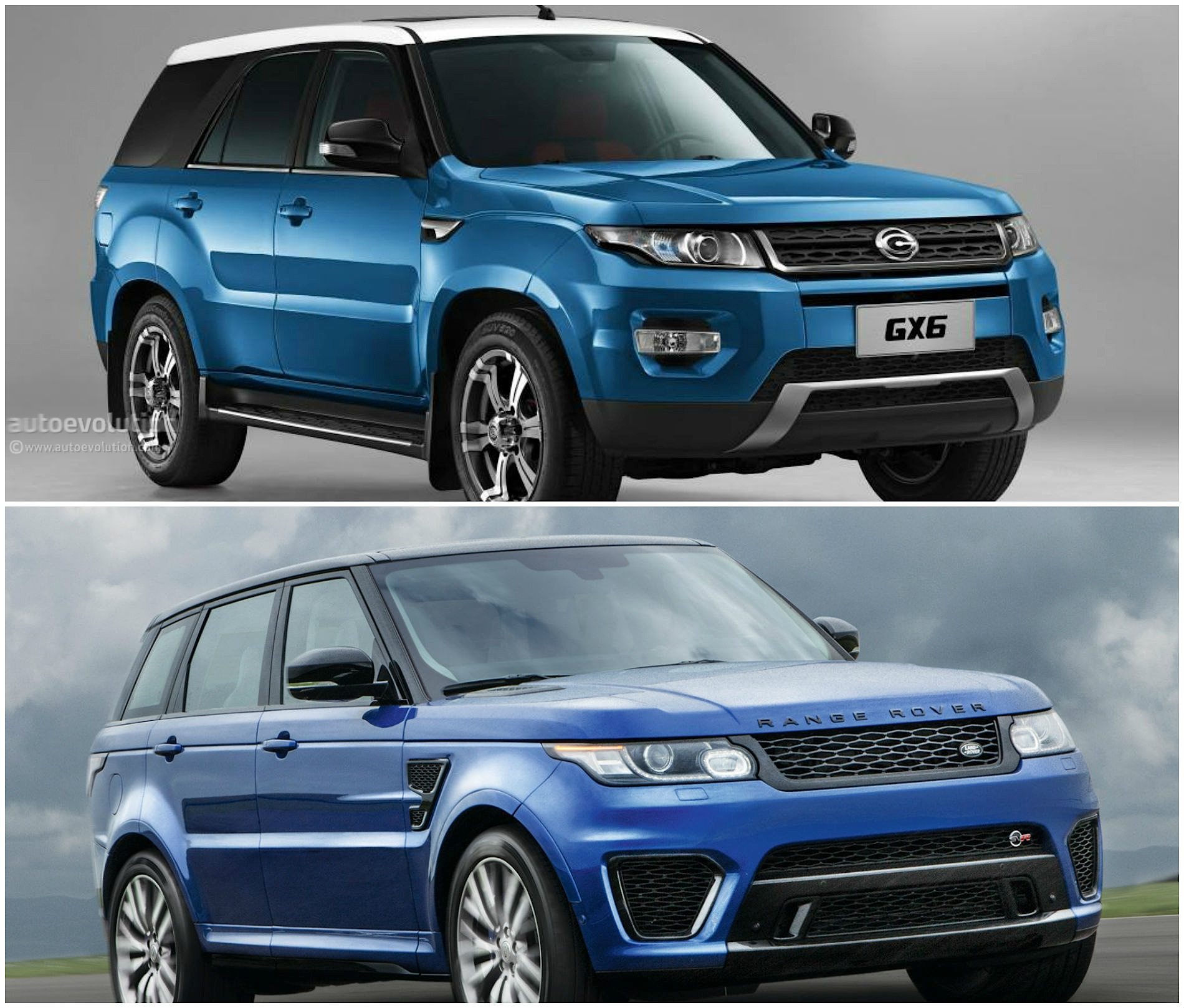 Land Rover: Range Rover Sport Cloned By The Chinese: It's Called The