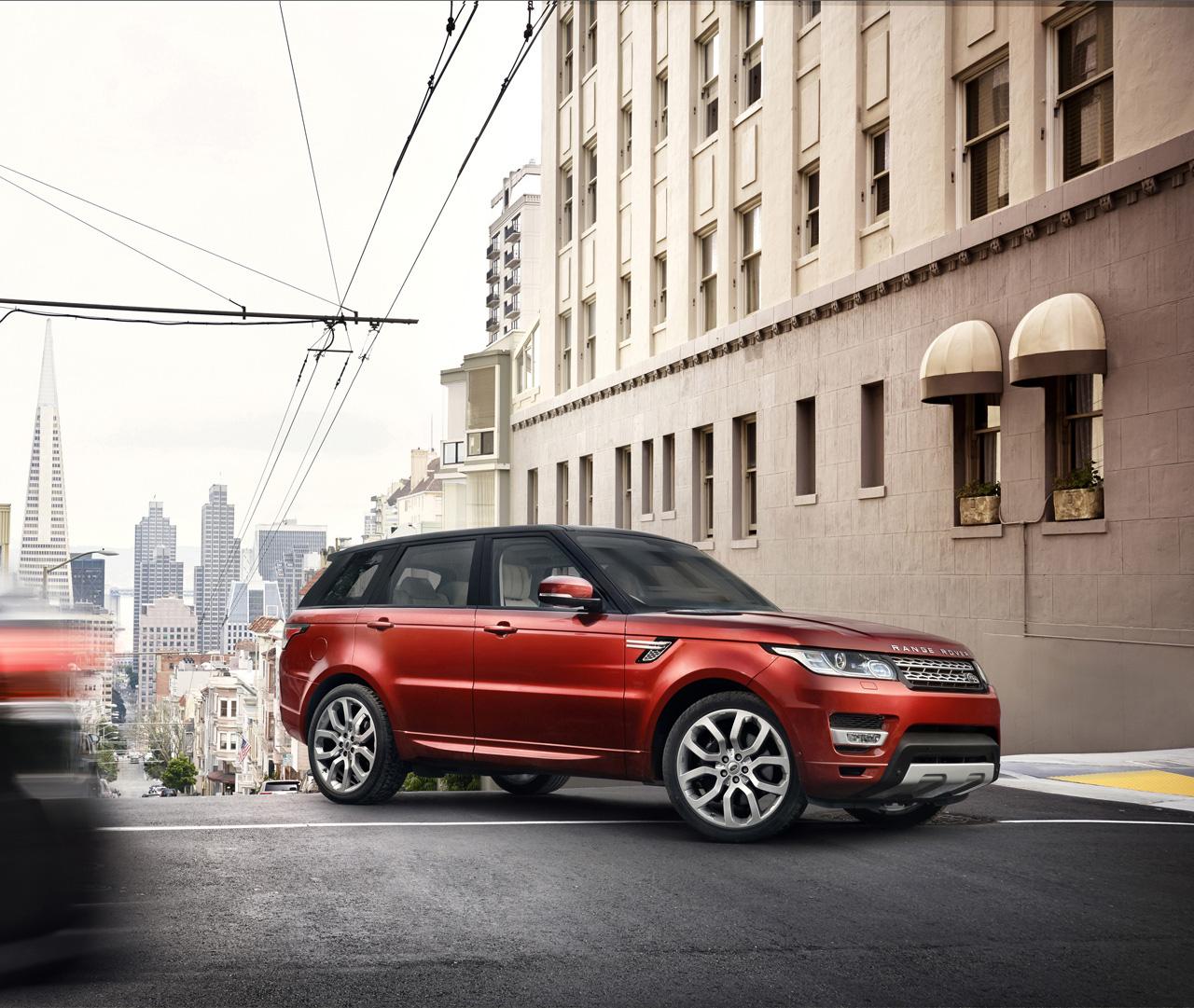 Land Rover Car Wallpaper: 2014 Range Rover Sport Original Pictures