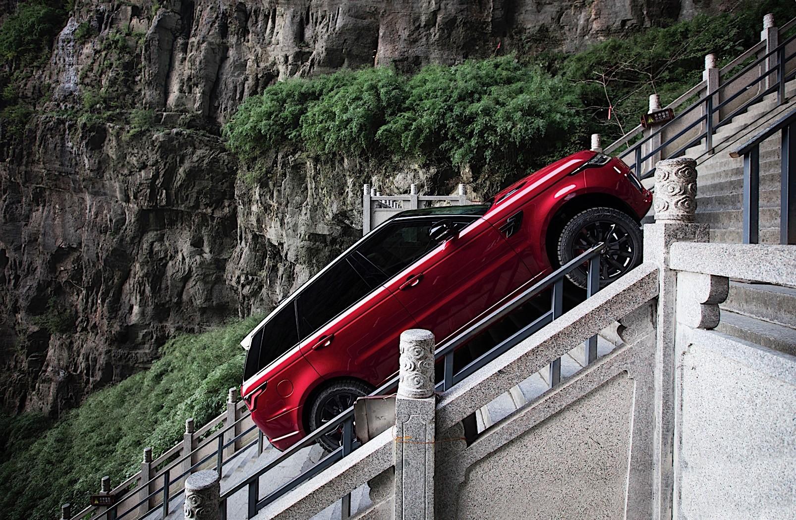 Range Rover Sport Phev Climbs 999 Steps To Heaven S Gate