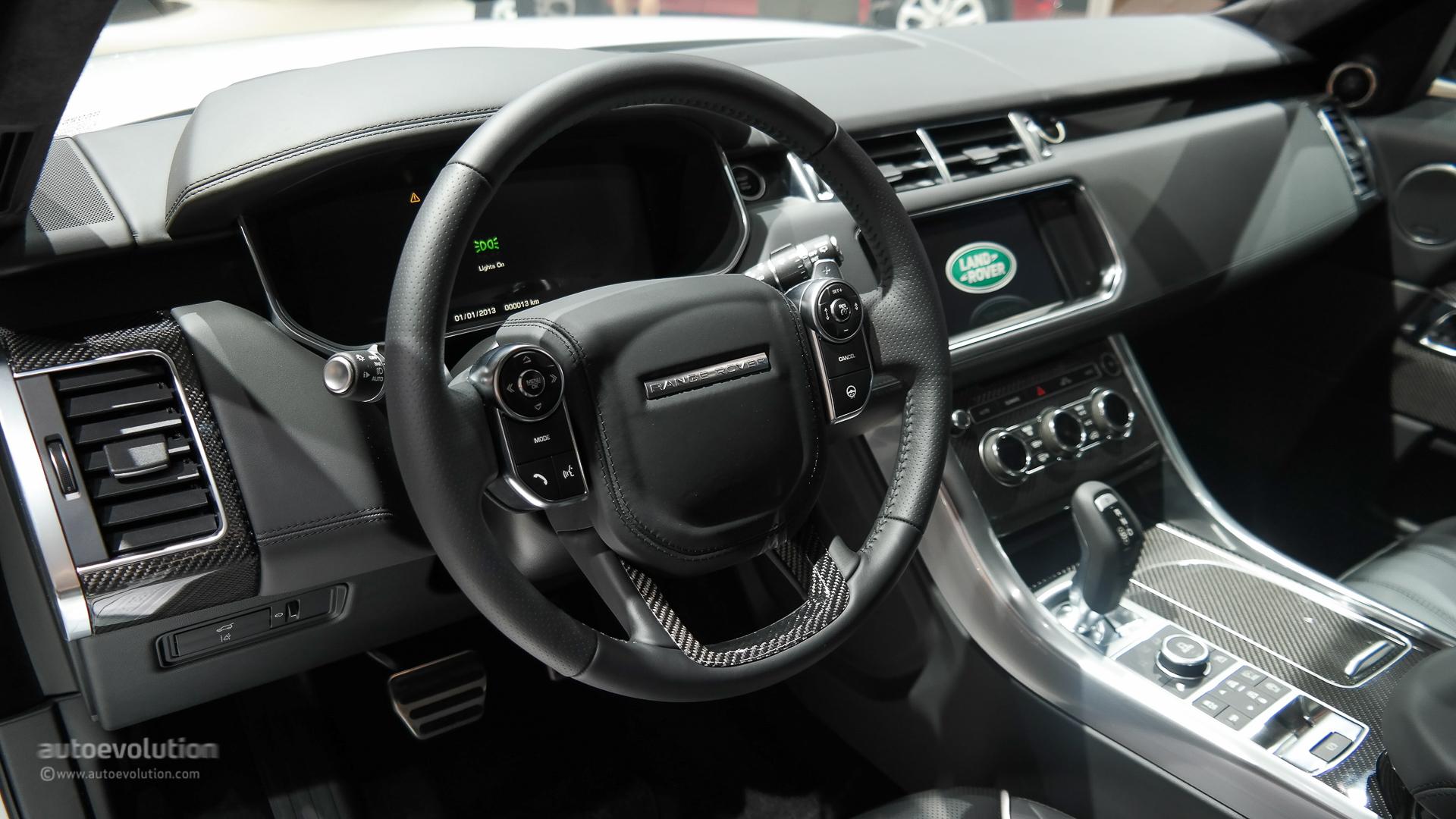 Land Rover Evoque Convertible >> Range Rover Sport SVR Brings Its Supercharged V8 to Paris [Live Photos] - autoevolution