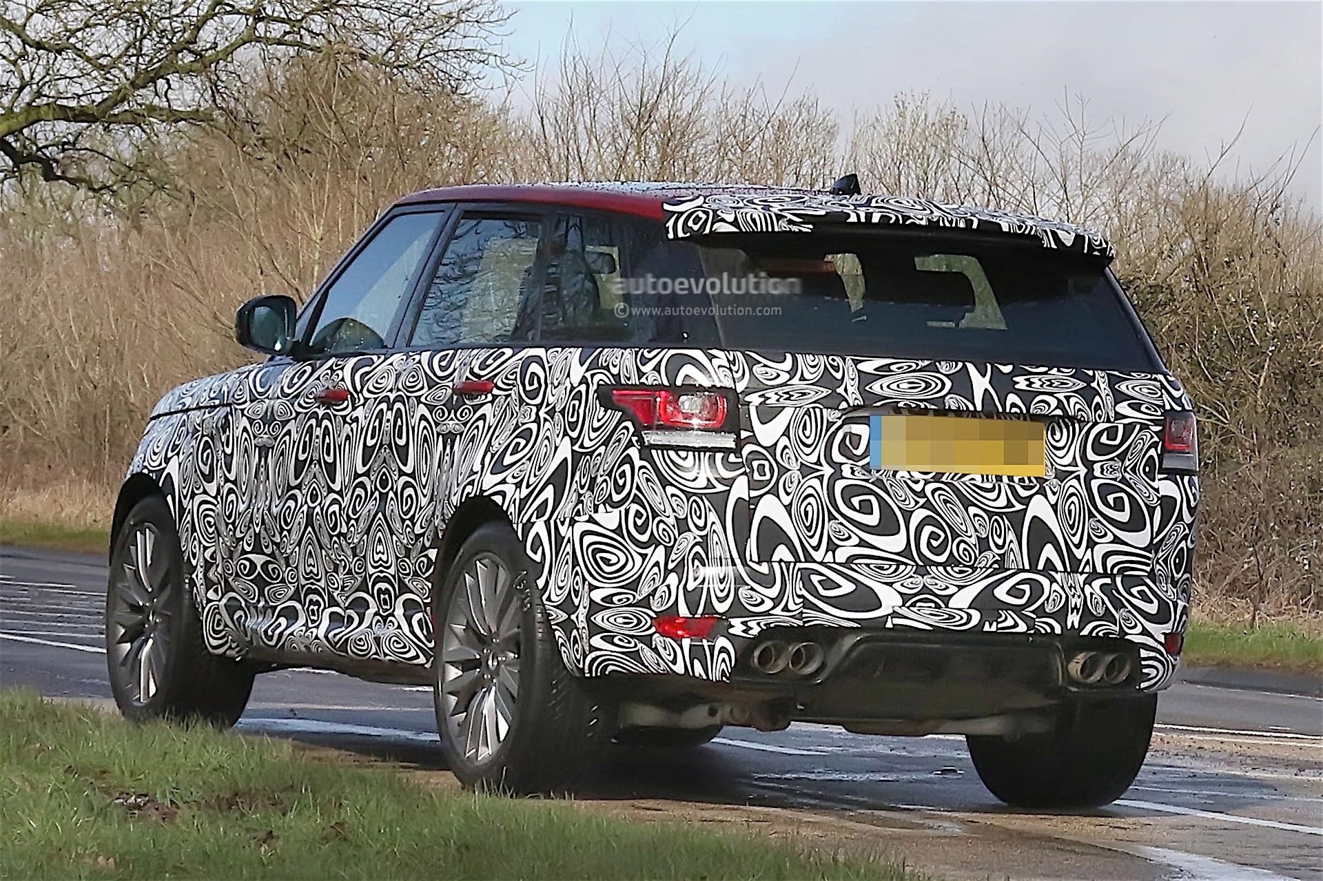 2018 Range Rover Sport Release Date Uk >> Range Rover Sport Svr Facelift Spied Testing In The Uk Autoevolution
