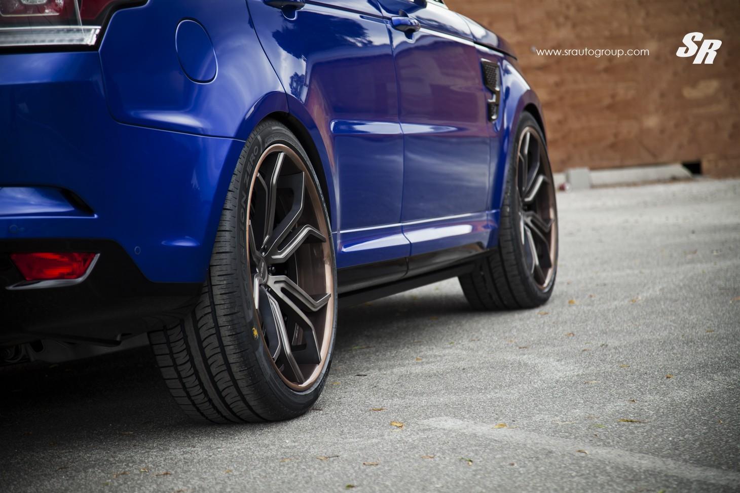 Range Rover Sport Svr On Pur Wheels British Swag